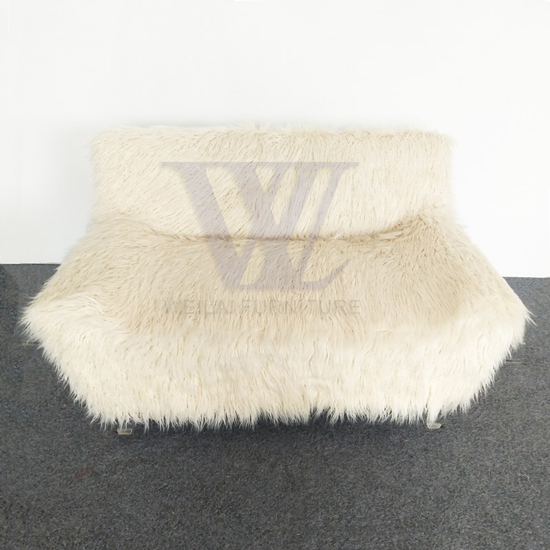 Plush Upholstery Pet Sofa