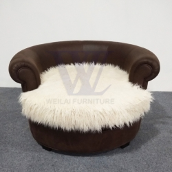 Plush Seat Cushion Pet Chair Sofa