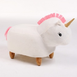 Kids Animal Unicorn Ottoman