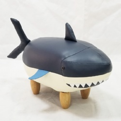 Kids Animal Shark Ottoman