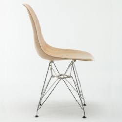 Replica Eames Beech Finishing PP Plastic Side Chair